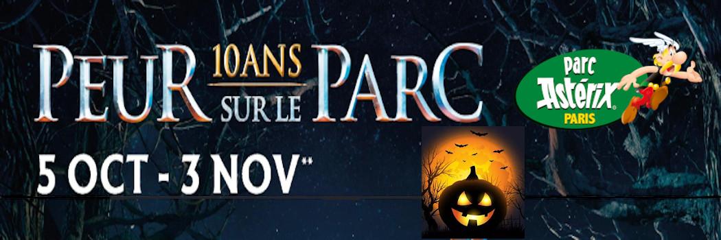 Offre Astérix Halloween Peur sur le Parc 31€ (tarif public à l'entrée du parc : 51€ adulte et 43€ enfant)