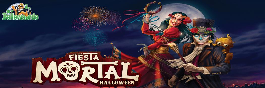 Envie de fêter Halloween en famille à Bellewaerde ?  Bienvenue à Fiësta Mortal ! du 12 octobre au 03 novembre 2019