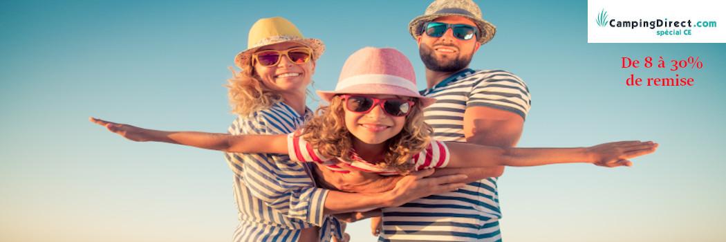 Vos vacances en Camping ! Bénéficiez de nos tarifs spéciaux