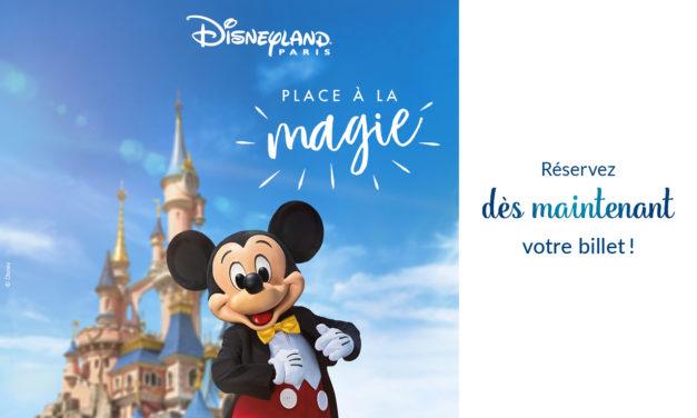 Disneyland Paris réouverture le 15 juillet 2020