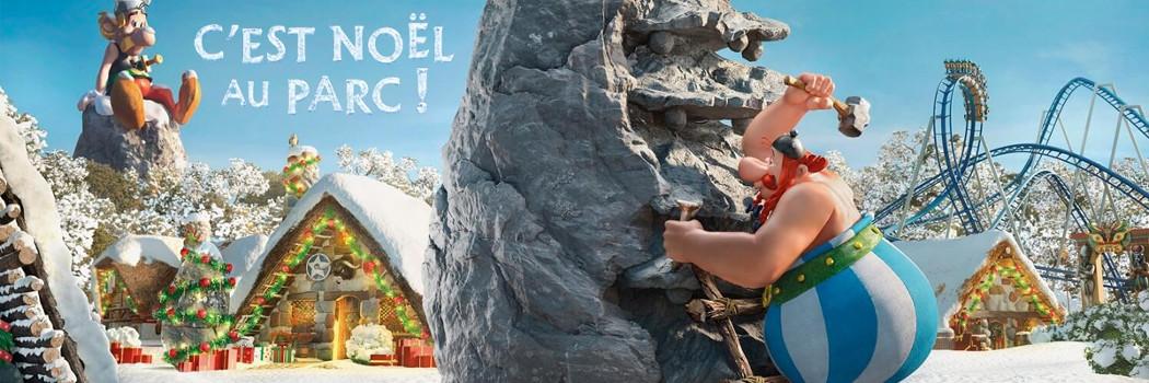 C'est Noël au Parc Astérix du 21 décembre 2019 au 5 janvier 2020 31€ (tarif à l'entrée du parc : 51€ adulte et 43€ enfant)