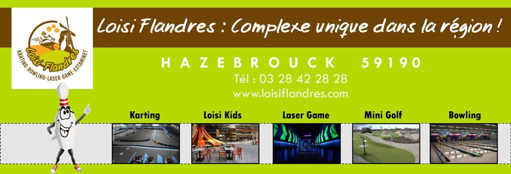 LOISI FLANDRES, Bowling, Mini-golf, loisi kids, karting, laser game