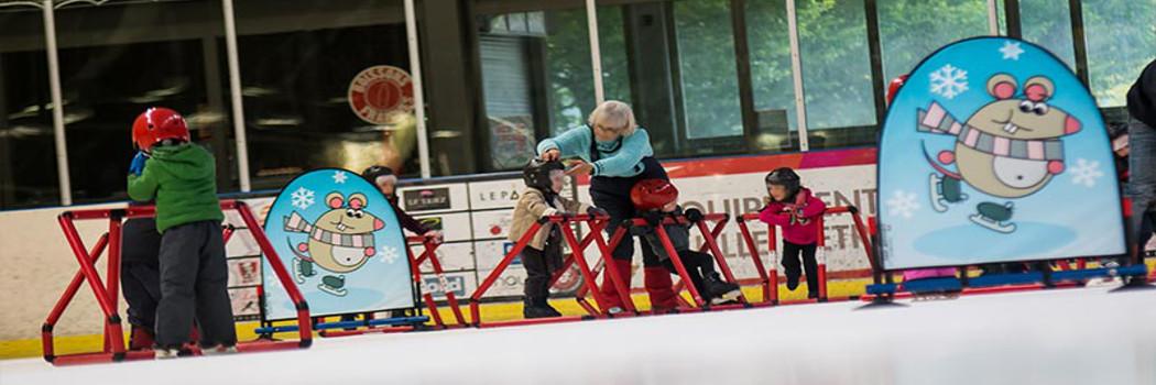 PATINOIRE LILLE MÉTROPOLE  Wasquehal – 5,20€ prêt des patins inclus au lieu de 7,60€.