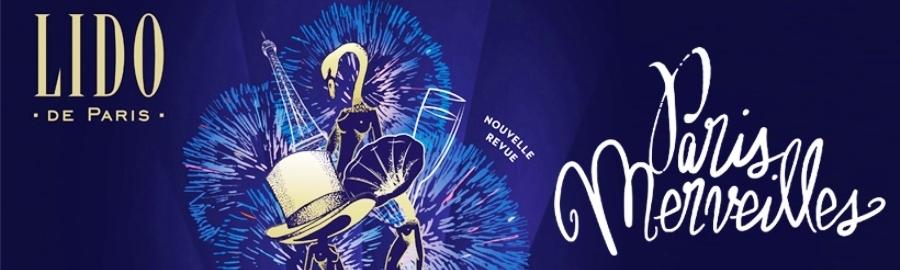 """LE LIDO – Paris – Revue """"Paris Merveilles"""""""